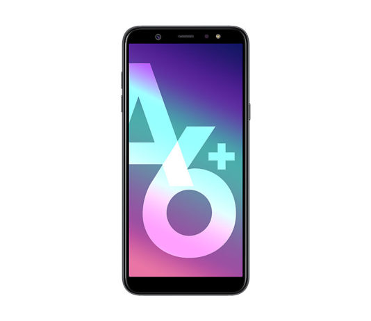 Galaxy A6+ front