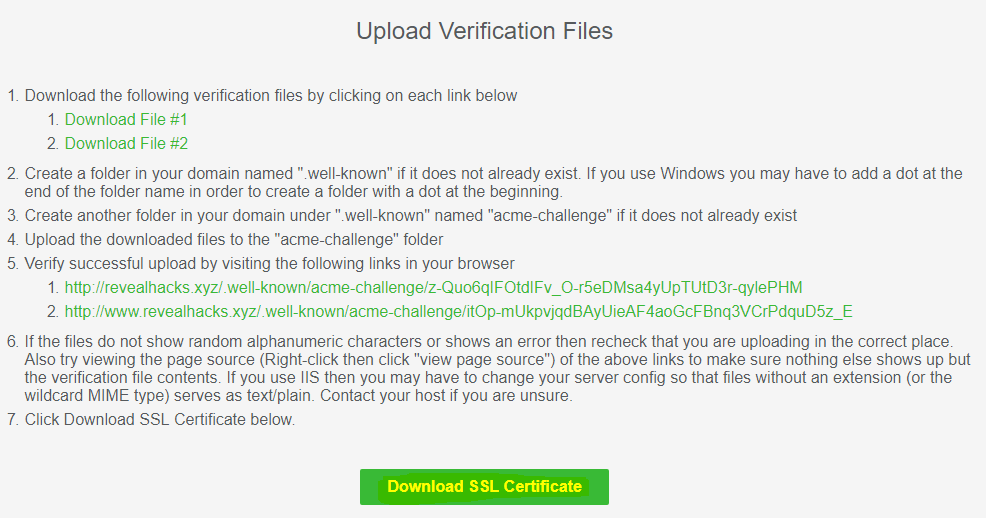 How To Get Green Padlock In Website For Free Free Ssl Certificate