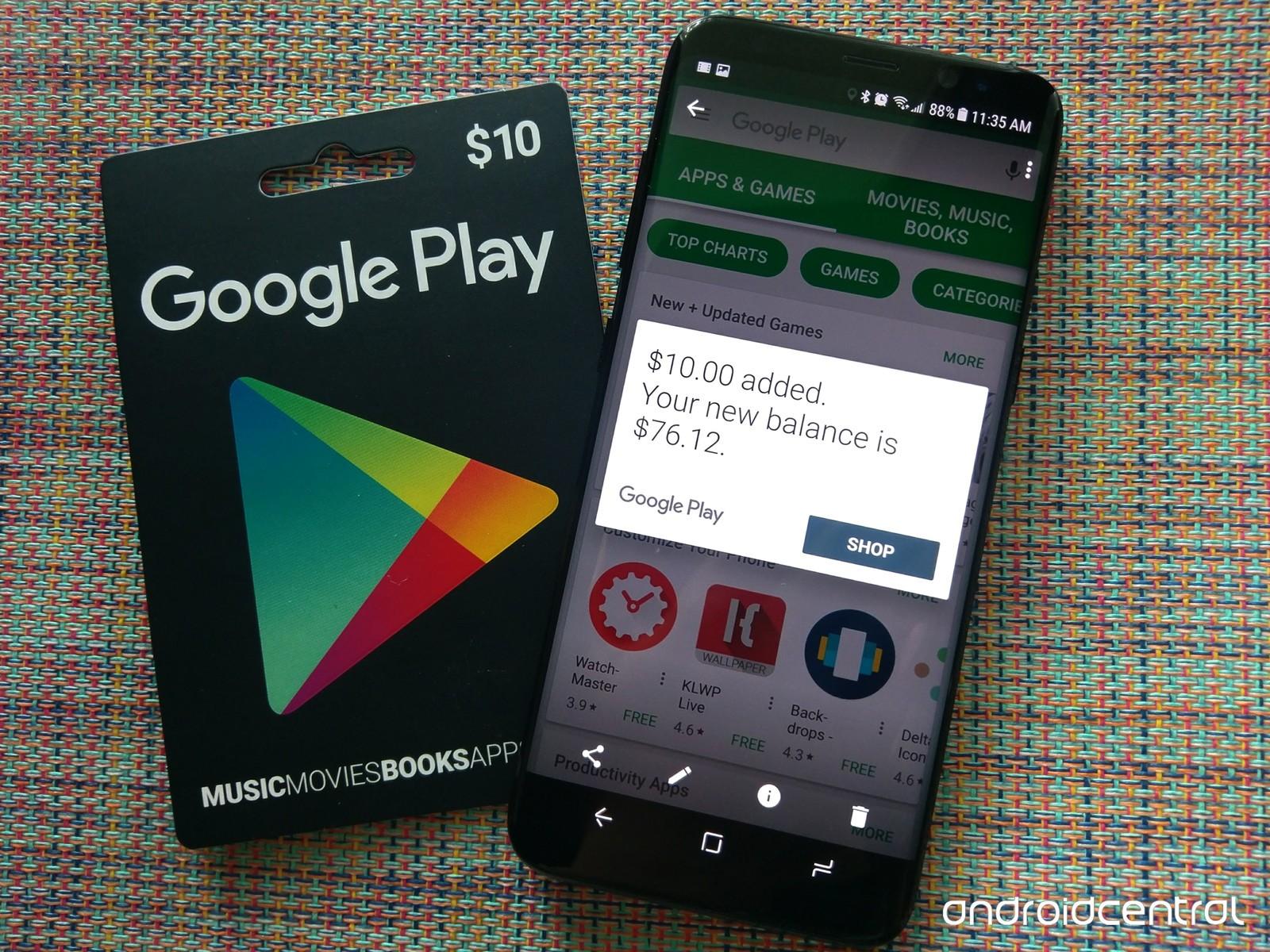 Google Play ...