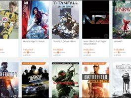 Origin Games for Free