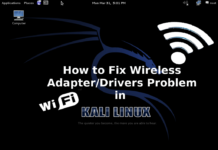 Fix Wireless Drivers Problem in Kali Linux (2020)