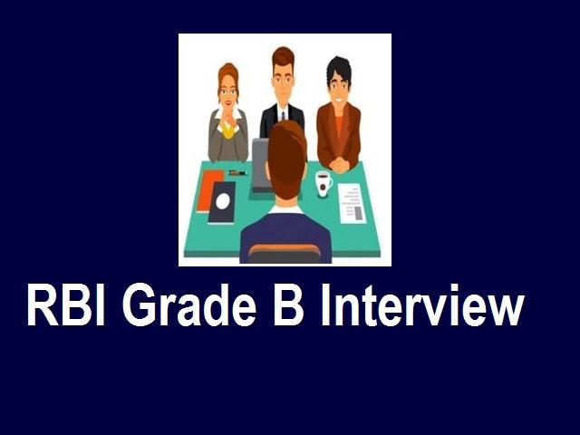 Crack RBI Grade B Interview