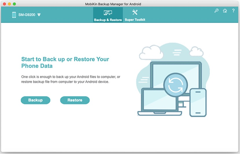 Back Up and Restore Android Data on Mac