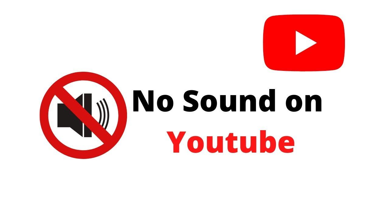 No sound on youtube