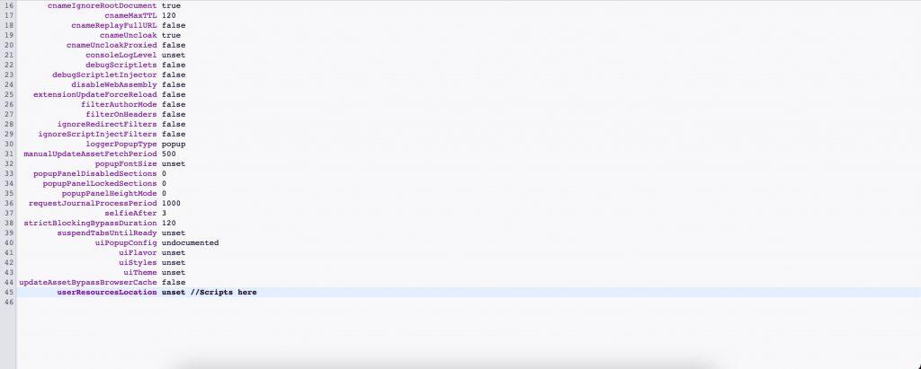 uBlock Origin Twitch