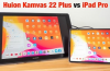 Apple iPad Pro 12.9 (2020) vs Huion Kamvas 22 Plus - the Ultimate Face-Off