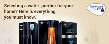 Selecting a water purifier for your home