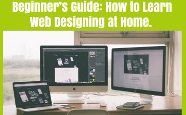 Beginner's Guide To Learn Web Designing At Home