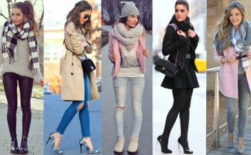 Outfits Of Winter For Girls