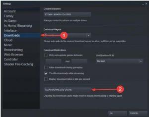 steam 0 byte updates issues