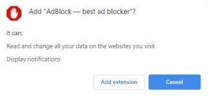 block ads on the Crunchyroll