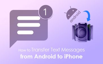 Transfer Text messages from Android to iPhone